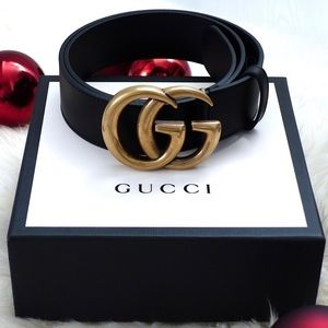 ÿNew Gucci Belt Äùthèntíć Double G Marmot